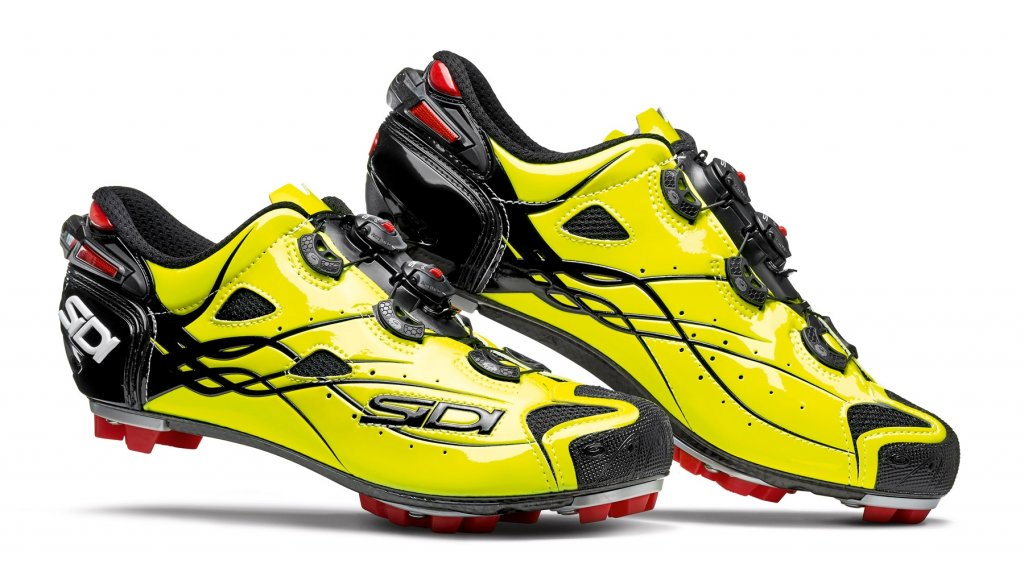 Sidi Tiger MTB Schuhe Herren Gr. 40 bright yellow Mod. 2019