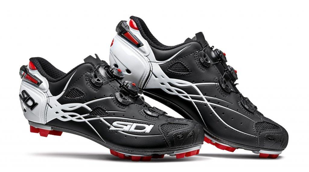 Sidi Tiger MTB-Schuhe Herren Gr. 41.5 matt black/white
