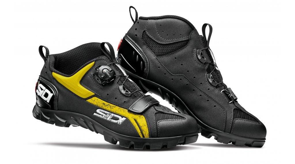 Sidi Defender MTB-Schuhe Herren Gr. 47.0 black/yellow