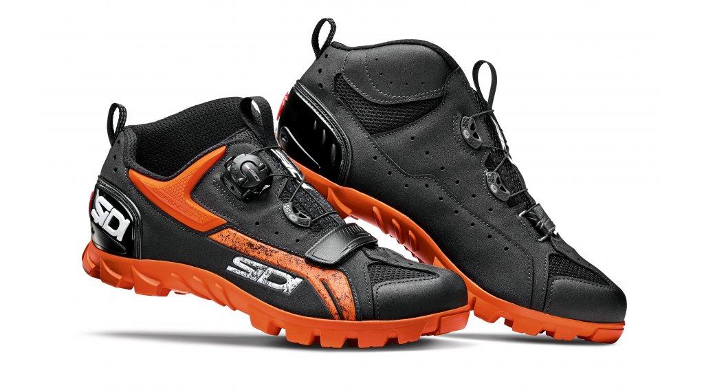 Sidi Defender MTB-Schuhe Herren Gr. 42.0 black/orange