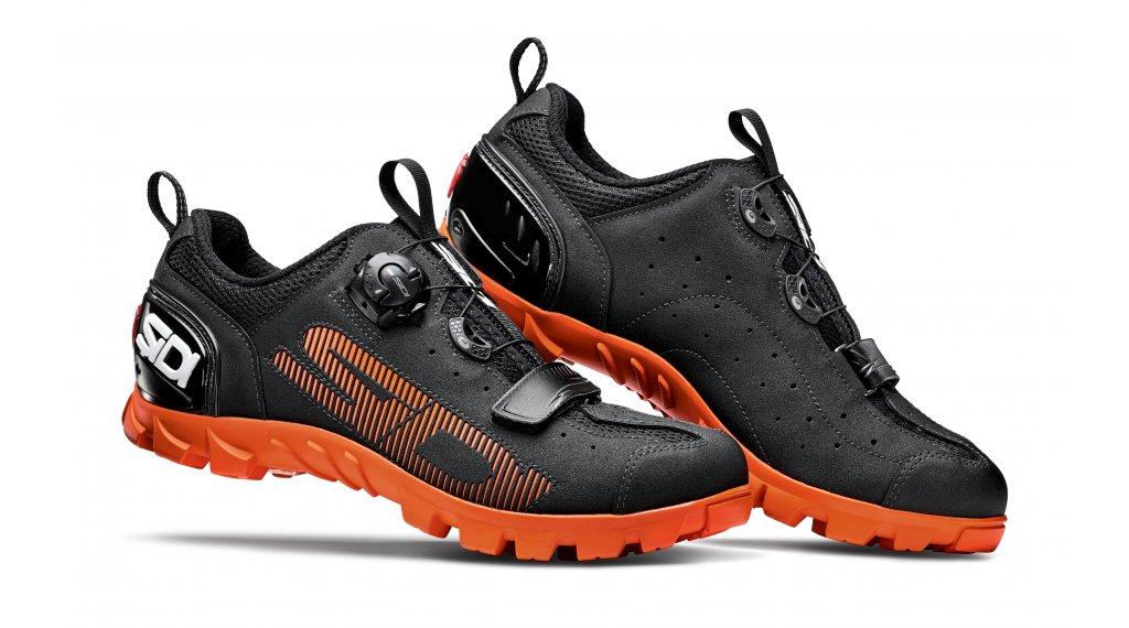 Sidi SD15 MTB-Schuhe Herren Gr. 40.0 black/orange
