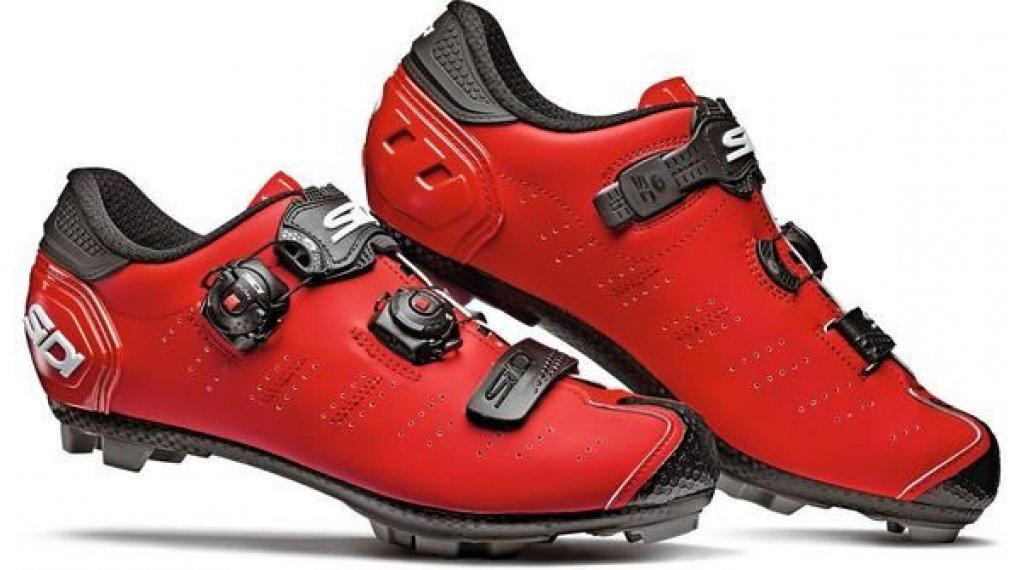 Sidi Dragon 5 SRS MTB-Schuhe Herren Gr. 41.0 matt red