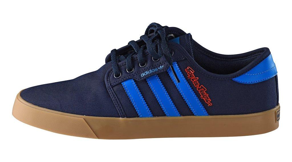 Troy Lee Designs Team Adidas MTB Schuhe Herren Gr. 40,0 (US 7,0) cyan Mod. 2019