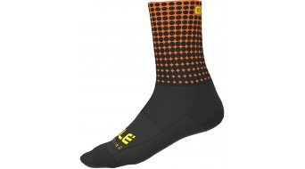 Alé Dots Socken 16cm Gr. S (36/39) black/black/fluo orange