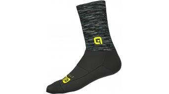 Alè Merino Logo Socken 18cm Gr. S grey/black