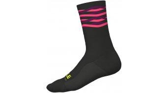 Alè Speedfondo Winter Socken 18cm Wintersocken Gr. S (36/39) black/fluo pink