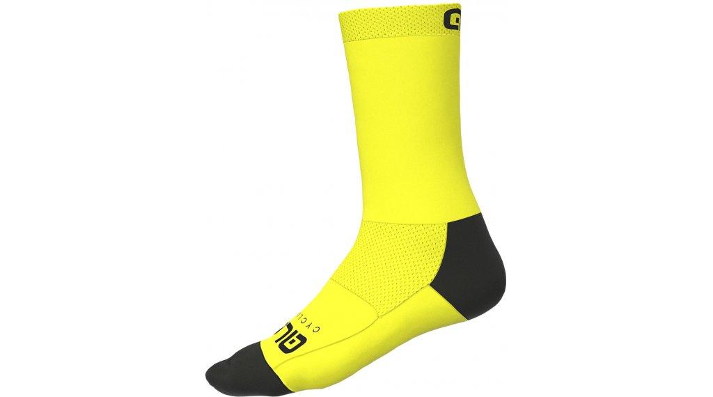 Alé Team Socken 20cm Gr. S (36/39) fluo yellow