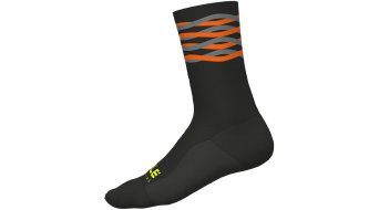 Alé Speedfondo Socken 18cm Gr. M (40/43) black/fluo orange
