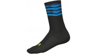 Alé Speedfondo Socken 18cm Gr. L (44/47) black/turquoise