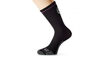 Assos bonkaSock evo7 calcetines tamaño 39-42 (I) negro Volkanga