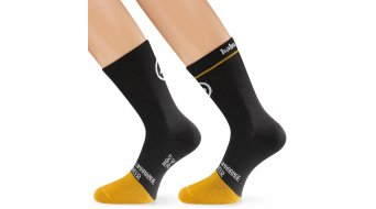 Assos habuSock zokni blackSeries