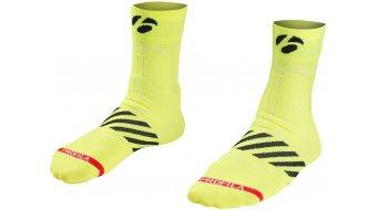 "Bontrager Velocis 2.5"" (6cm) socks visibility yellow"