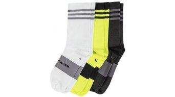Bontrager Race Crew socks men black/wheelioactive yellow (3-Pack)
