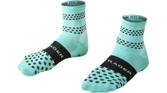 Bontrager Race Quarter socks men size 43-45 (L) Miami green