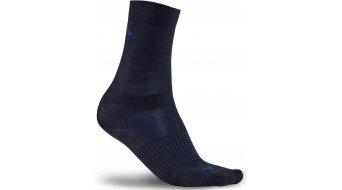 Craft Wool Liner Socken (2er-Pack) Gr. 46/48 (XL) black/burst