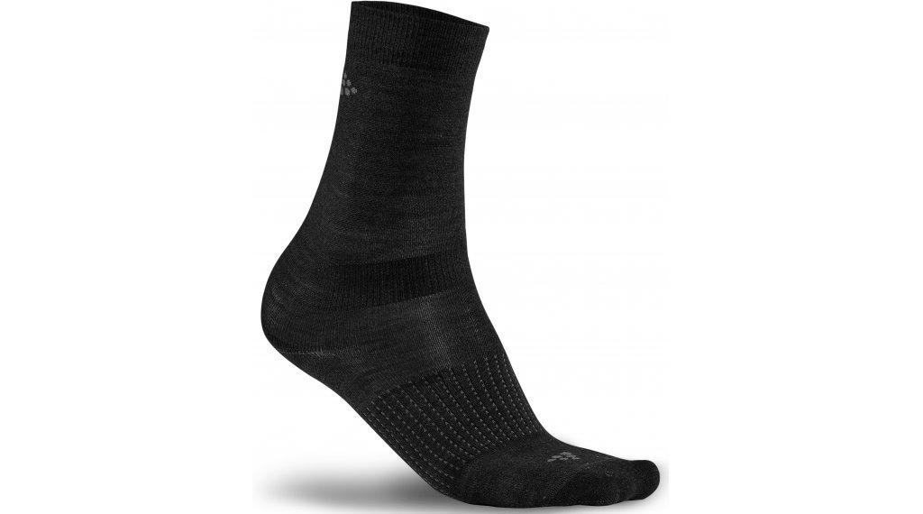 Craft Wool Liner Socken (2er-Pack) Gr. 37/39 (S) black