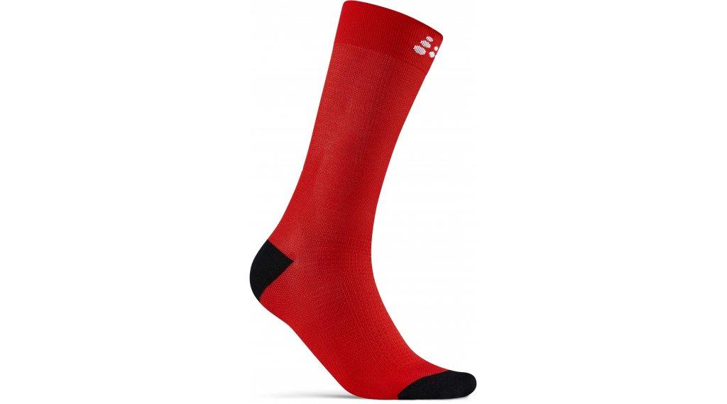 Craft Core Endurance Socken Gr. S (37-39) bright red/white