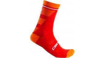 Castelli Trofeo 15 Socken Gr. S/M red
