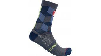 Castelli Unlimited 15 Socken Gr. S/M dark steel blue