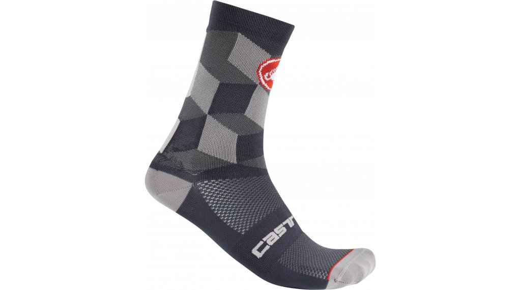 Castelli Unlimited 15 Socken Gr. S/M dark gray