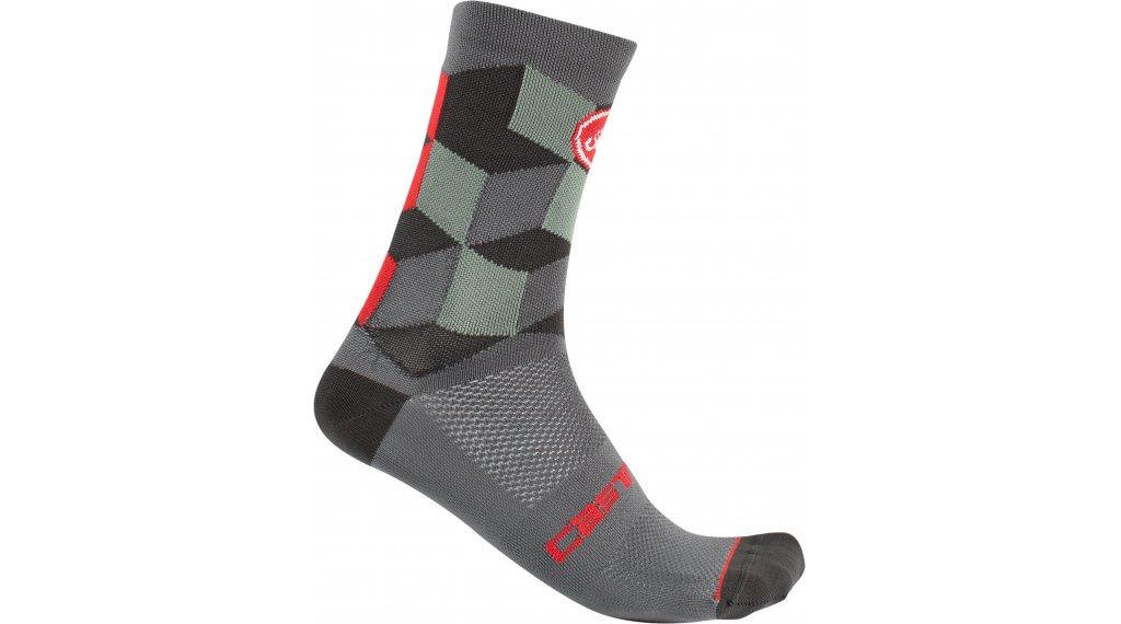 Castelli Unlimited 15 Socken Gr. S/M forest gray