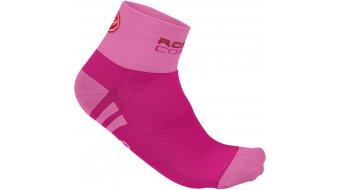 Castelli Rosa Corsa calcetines Señoras-calcetines