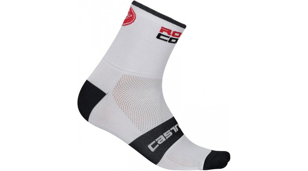 Castelli Rossocorsa 9 Socken Gr. S/M white