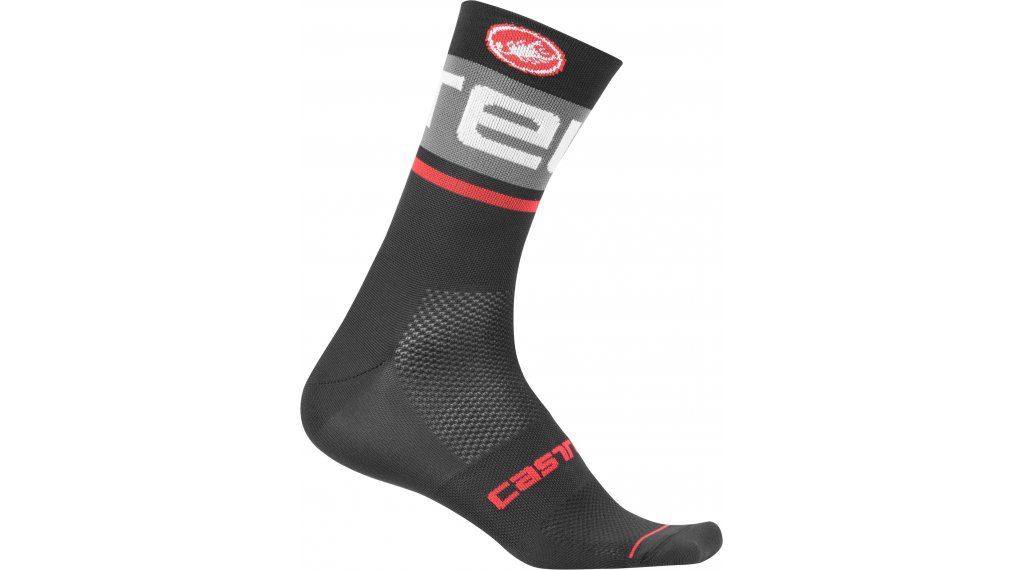 Castelli Free Kit 13 Socken Gr. S/M black/dark gray