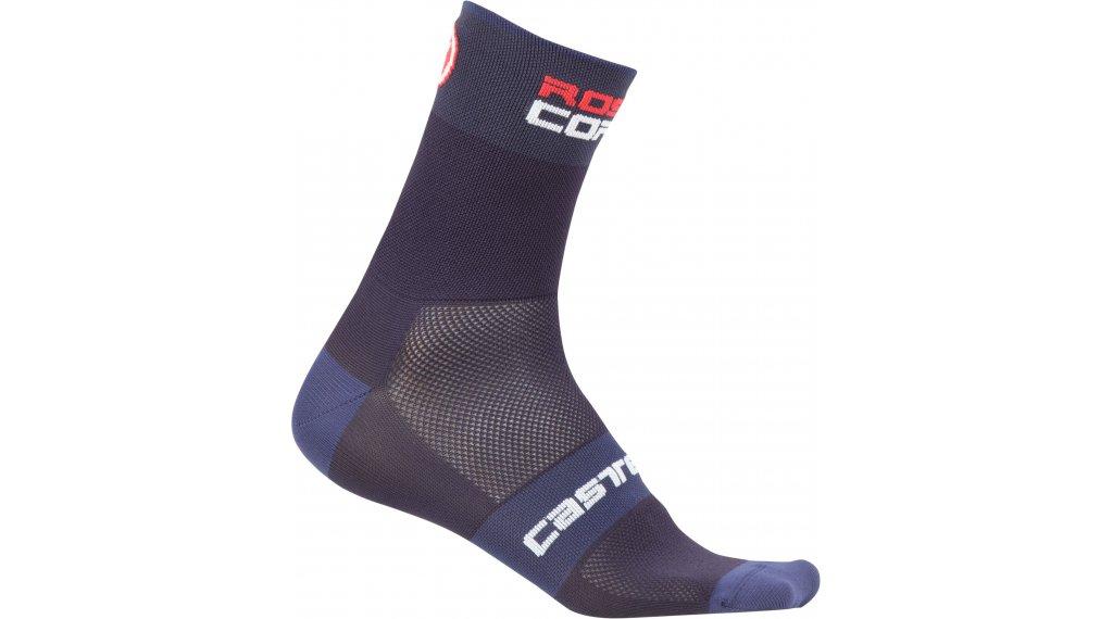 Castelli Rossocorsa 6 Socken Gr. S/M dark/steel blue
