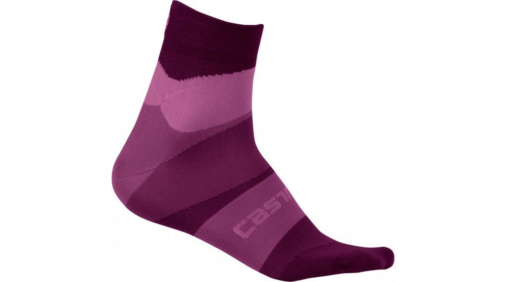 Castelli TR Socken Damen Gr. S/M onda cyclamen