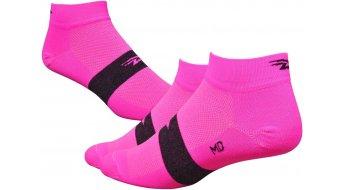 DeFeet Aireator Team DeFeet (3cm) Sportsocken Gr. L (43-45,5) neon pink
