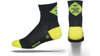 DeFeet Aireator 8cm socks Share The Road black