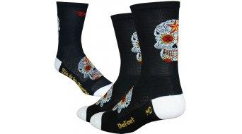 DeFeet Aireator 5 socks single-collar Sugar Skull