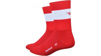 DeFeet Aireator 5 Socken Doppel-Bund Team DeFeet