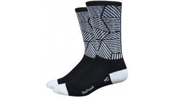 DeFeet Aireator 15cm socks single-collar Craze black/white