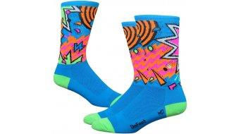 DeFeet Aireator 15cm socks single-collar Shazam blue/green