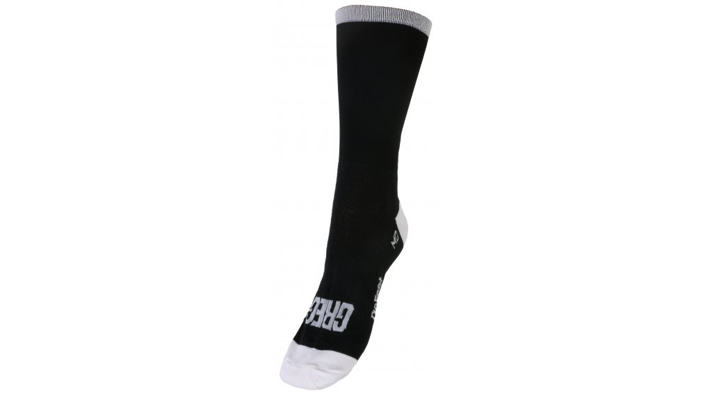 DeFeet Aireator Rich Mitch Greg Lemond Sportsocken 型号 S (36-39,5) 黑色/白色