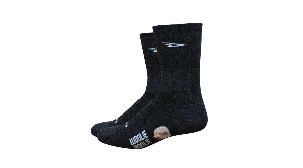 DeFeet Woolie Boolie D- logo (10cm) Sport socks size M (40-42,5) black
