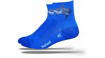 DeFeet Aireator 8cm socks Attack blue