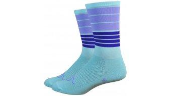 DeFeet Aireator hand lebar Mustache 15cm socks Biggie Smalls blue