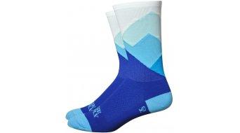 DeFeet Aireator Ridge Supply 15cm socks Alpine blue