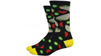 DeFeet Aireator 15cm socks single-collar Taco Tuesday black