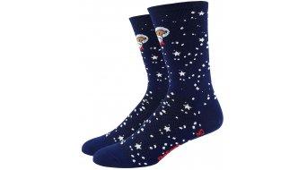 DeFeet Aireator 15cm socks single-collar Doggo blue