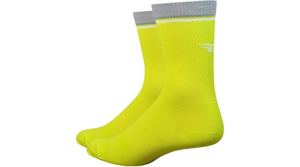 DeFeet Levitator Lite 15cm Socken Gr. M (40-42,5) gelb