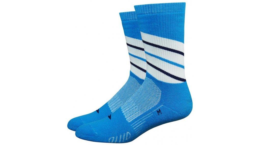 DeFeet Thermeator Twister (15cm) Sportsocken Gr. S (36 - 39,5) blau