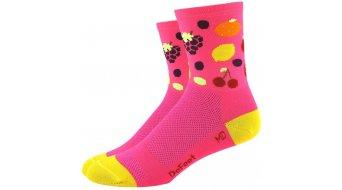 DeFeet Aireator Tutti Frutt (10cm) Sportsocken Damen pink