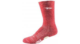 DeFeet Woolie Boolie Comp 15cm socks D-logo