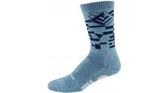 DeFeet Woolie Boolie Comp 15cm socks Comp Razzle blue