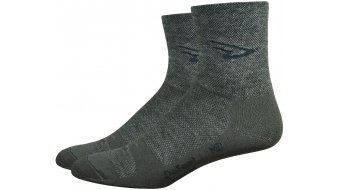 DeFeet Wooleator Comp 8cm socks D-logo green