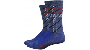 DeFeet Wooleator Comp Layers (15cm) Sport socks blue